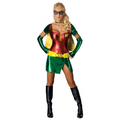 Robin Adult Dress Costume