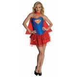 Super Girl Corset and Skirt
