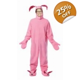 The Christmas Story Child's Bunny Cost..