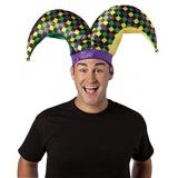 2 Prong Mardi Gras Jester Hat