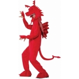 Plush Red Dragon