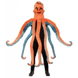 Orange and Blue Octopus Costume