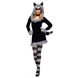 Racy Racoon Adult Costume