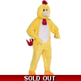 Mascot Chicken Adult Costume