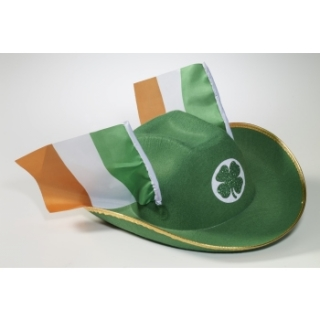 St. Patrick's Day Irish Flag Cowboy Hat