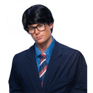 Men's Black Character Wig