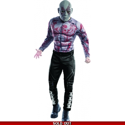 Drax the Destroyer Deluxe Adult Costume