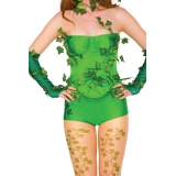 Poison Ivy Deluxe Adult Corset