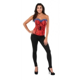 Spider-Girl Deluxe Adult Corset
