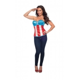 American Dream Deluxe Adult Corset
