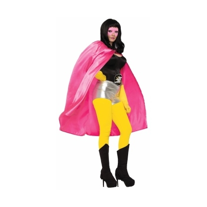 Be Your Own Hero Cape Pink