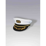 Deluxe White Captain Hat