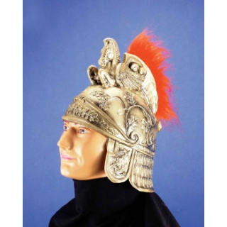 Roman Gold Latex Helmet