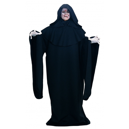 Black Full Cut Robe