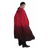 Red Faded Cape