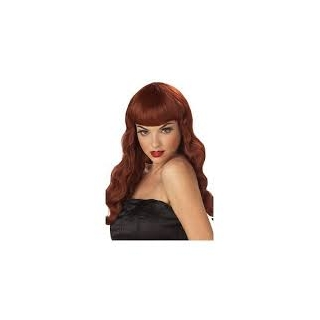 Pin Up Girl Red Wig
