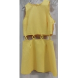 Adult 1960's Yellow Dress Medium Costume