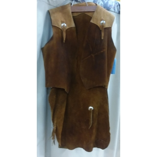 Adult Western Chaps Large Costume
