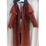 Adult Western Suede Duster Large Costume