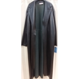 Adult Black Western Duster Large Costume