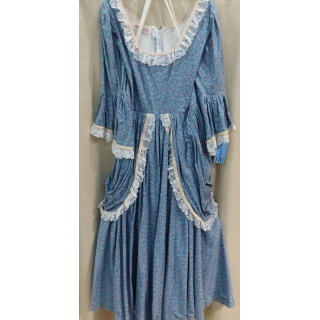 Adult Colonial Female Dress Large Cost..