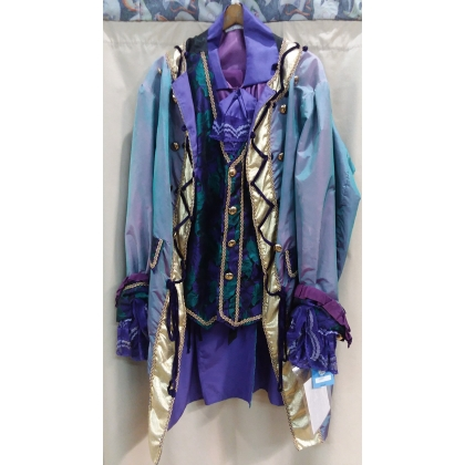 Adult French Colonial King of Mardi Gras Large Costume