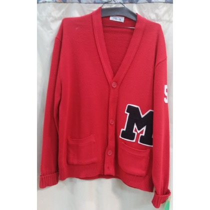 Adult Red Letter Sweater XL Costume