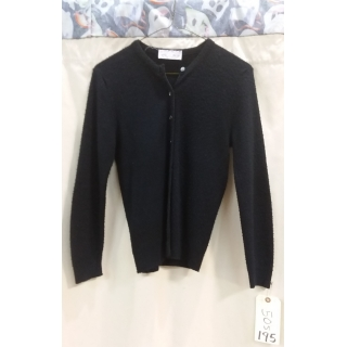 Adult Black 50's Sweater Small/Medium ..