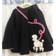 Adult 1950's Black Poodle Skirt Sm..