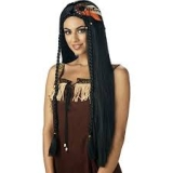 Indian Princess Wig