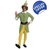 Adult Buddy The Elf Standard Costume