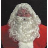 Professional Santa Wig, Moustache, and..