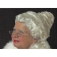 Mrs. Claus Natural Beautiful Wig