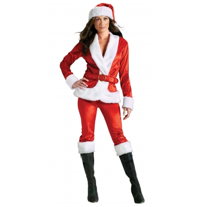 Ms. Santa Pants Set Adult Small