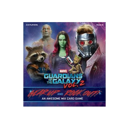 Guardians of the Galaxy Vol.2 Gear Up and Rock Out An Awesome Mix Card Game