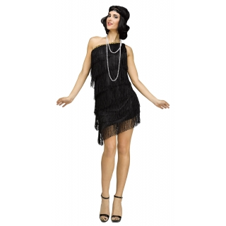 Adult 1920's Shimmery Flapper Small/Me..
