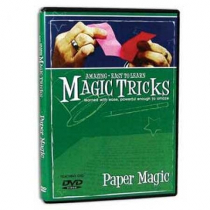 Amazing Easy To Learn Magic Tricks- Paper Magic