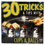 30 Tricks Cups and Balls DVD in Compac..