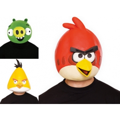Angry Bird Latex Masks