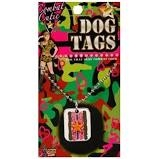 Combat Cutie Dog Tags