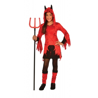 Child Devilina Costume Medium