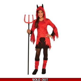 Child Devilina Costume Small