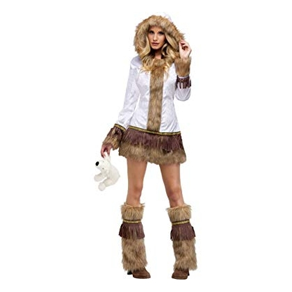 Adult Eskimo Small/Medium Costume