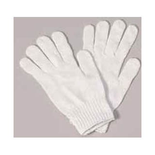 White Knit Gloves
