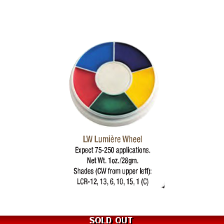 Ben Nye Lumiere Wheel