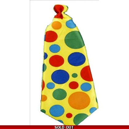 Jumbo Long Clown Tie