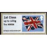 FV10a NMRN 1st class Flag Faststamps R..