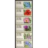 FS16c-1 Symbolic Flowers Faststamps 6 ..