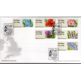 FS16f Symbolic Flowers Faststamps bure..