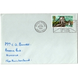 0765F Menai Bridge first day cover 1968